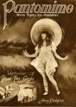 1922 - Cover of <em>Pantomime</em> magazine