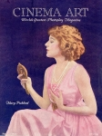 1922 - Cover of <em>Cinema Art</em> magazine