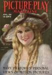 1916  - Cover of <em>Picture-Play</em> magazine