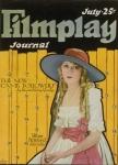 1922 -  Cover of <em>Filmplay Journal</em> (Courtesy of AMPAS)