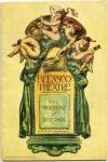 1907 - Theater program for <em>The Warrens of Virginia</em>