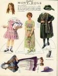 1919 - 1919 - June - Mary Pickford 'Movy-Dols' from <em>Photoplay</em> magazine