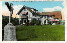 1922 - Pickfair postcard