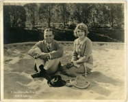 Mary Pickford and Douglas Fairbanks at Pickfair - 1920
