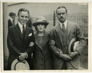 Charlie Chaplin, Mary Pickford and Douglas Fairbanks - 1921