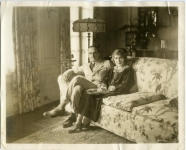 Mary Pickford and Douglas Fairbanks at home - 1925 (ca.)