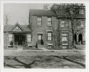 Mary Pickford's birthplace (house in center) -- 211 University Ave, Toronto, Canada - 1916