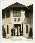 Douglas Fairbanks and Mary Pickford at Pickfair - 1921