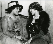 Mary Pickford and Louella Parsons - 1925 (ca.)