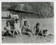 On the beach at Santa Monica - 1925