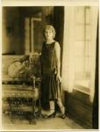 Mary Pickford in Pickfair dining room - 1924