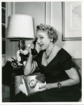 Mary Pickford promoting her autobiography, Sunshine and Shadow - 1955