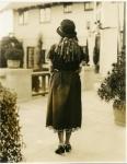 Mary Pickford models a Lanvin dress - 1922