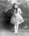 Mary Pickford in costume for The Poor Little Rich Girl - 1917