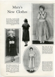 1922  - Mary displays her new clothes for <em>Photoplay</em> magazine