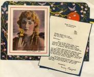 1923  - Leichner cosmetics ad
