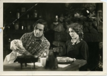 Elliot Dexter  and Mary Pickford in A Romance of the Redwoods - 1917