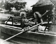 Mary Pickford and Forrest Robinson in Tess of the Storm Country - 1922