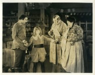 Mary Pickford and co-stars in Little Lord Fauntleroy - 1921