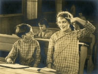 Mary Pickford and Wesley Barry in Daddy-Long-Legs - 1919
