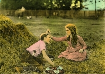 Mary Pickford and Howard Ralston in Pollyanna - 1920