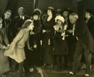 Mary Pickford and co-stars in Daddy-Long-Legs - 1919