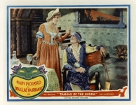 Mary Pickford and Douglas Fairbanks in Taming of the Shrew - 1929