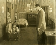 Mary Pickford and John Bowers in Hulda From Holland - 1916
