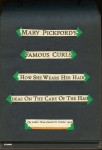 "- ""Mary Pickford's Famous Curls"" Scrapbook - p.03"