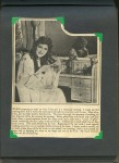 "- ""Mary Pickford's Famous Curls"" Scrapbook - p.04"
