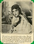 "- ""Mary Pickford's Famous Curls"" Scrapbook - p.11"