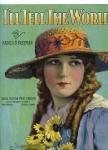 "1919 - ""I'll Tell the World"" sheet music"