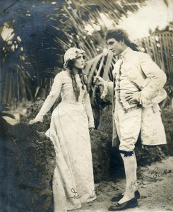 Mary Pickford and Owen Moore in Cuba