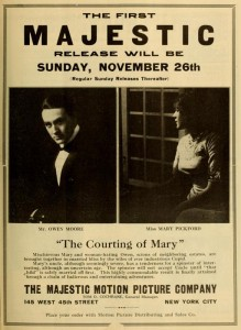 Magazine ad for The Courting of Mary