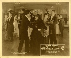 Frances Marion and Mickey Neilan dance with an eye on Mary Pickford