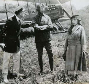 Douglas Gerrard, Glenn Martin and Mary Pickford
