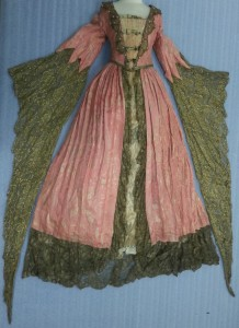 Mitchell Leisen-designed costume Mary Pickford wore in the film Dorothy Vernon of Haddon Hall (1924)