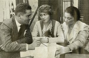 Mickey Neilan, Mary Pickford, and Frances Marion