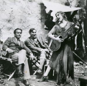Rosita - Doug, Lubitsch, and Mary on set