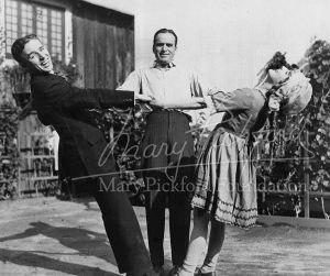 Charlie Chaplin, Douglas Fairbanks, and Mary Pickford