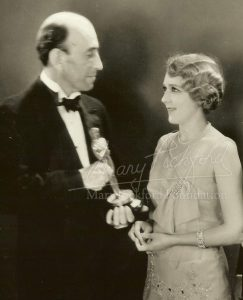 Mary Pickford and William deMille