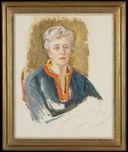 Frances Cranmer Greenman - Undated Self Portrait