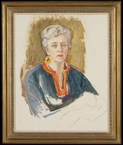 Frances Cranmer Greenman - Undated Self Portrait