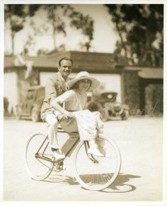 Doug and Mary on bike