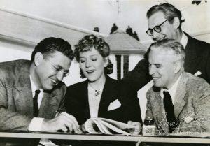 mw Pickfair Mary with Chaplin, Korda, and Selznick
